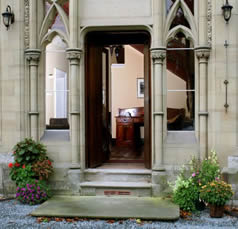 Ffarm Country House entrance